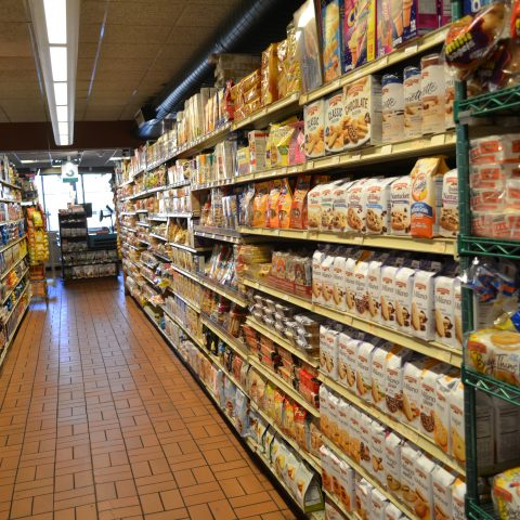 Cafasso's grocery aisle