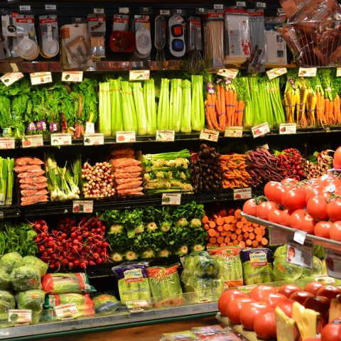 Cafasso's produce and vegetable section
