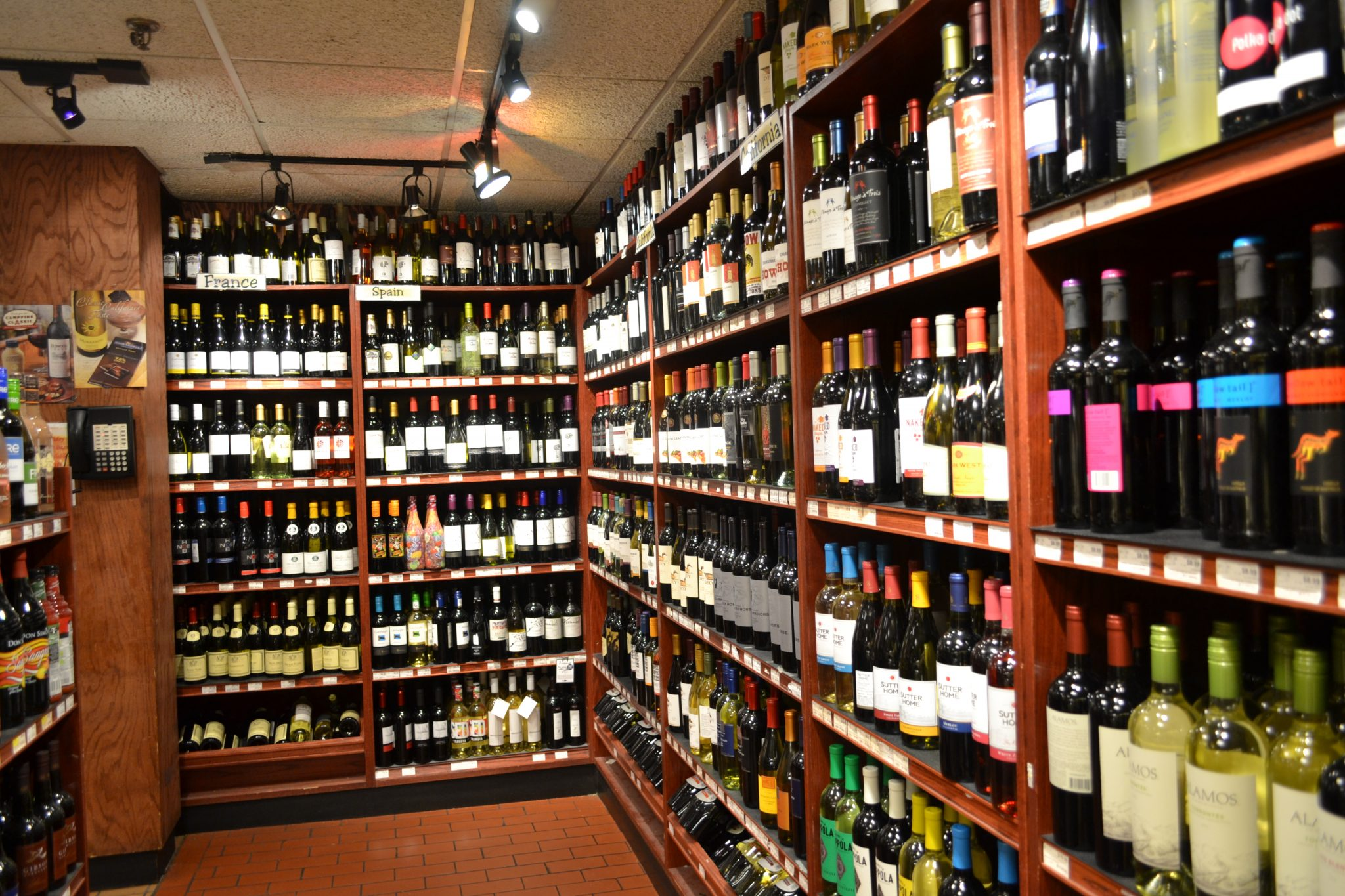 Cafasso's Wine Section