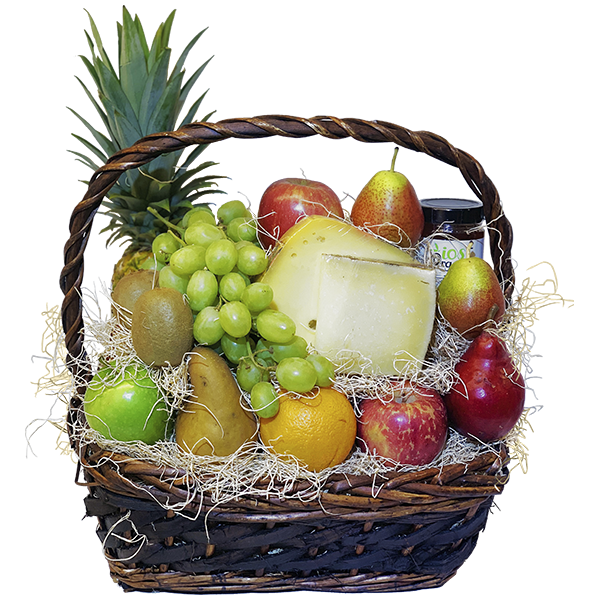 Classic Fruit Basket w Cheese